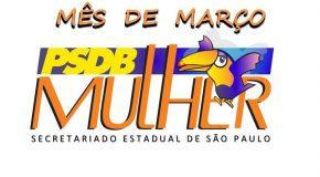PSDB Mulher no mês de Março